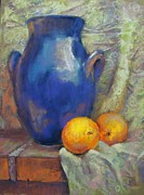 Donna Shortt Framed Prints - Jug Ears and Oranges Framed Print by Donna Shortt