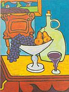 Jug Painting Originals - Jug of Wine by Nicholas Martori