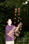 Biomechanic Art - Juggling Balls by Ted Kinsman