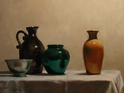 Jugs Prints - Jugs and Jars Print by Tim Kelly