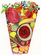 Told Prints - Juice Ecstasy Print by Christy Woodland