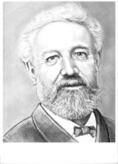 Science Fiction Originals - Jules Verne by Murphy Elliott