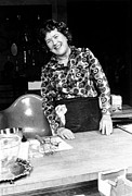 Laughing Prints - Julia Child, Ca. Early 1970s Print by Everett