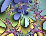 Julia Set Art - Julia Fractal by Victor Habbick Visions