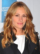 Smiling Jesus Art - Julia Roberts At Arrivals For Jesus by Everett