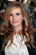 Film Camera Prints - Julia Roberts At Arrivals For The Film Print by Everett