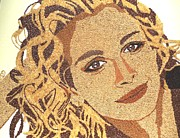 Featured Reliefs Prints - Julia Roberts Print by Kovats Daniela