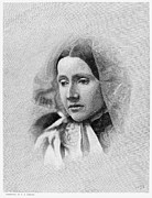 Howe Prints - Julia Ward Howe (1819-1910) Print by Granger