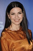Straight Hair Prints - Julianna Margulies In Attendance Print by Everett