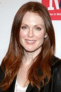 In Attendance Prints - Julianne Moore In Attendance Print by Everett