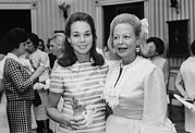Controversial Photos - Julie Nixon Eisenhower With Martha by Everett