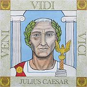 Julius Paintings - Julius Caesar by Paul Helm