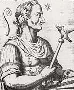 Gaul Prints - Julius Caesar, Roman General Print by Science Source