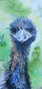 Carol Mclagan Art - Juls Emu by Carol McLagan