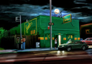 Motown Digital Art - Jumbos Bar Detroit by David Kyte