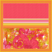 Tangerine Framed Prints - Jump for Joy Framed Print by Bonnie Bruno