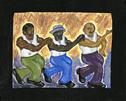 Harlem Paintings - Jump by S Goodwin