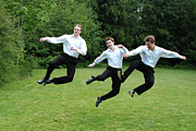 Groomsmen Posters - Jumping for Joy Poster by Rianna Stackhouse