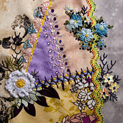 Embroidery Tapestries - Textiles - June by Masha Novoselova