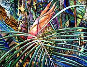 Rain Drawings Originals - Jungle Fever by Mindy Newman
