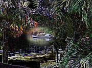 Rick Mckinney Metal Prints - Jungle Glow Metal Print by Rick McKinney