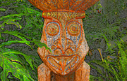 Tiki Art Posters - Jungle man Poster by David Lee Thompson