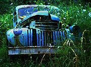 Trashed Framed Prints - Jungle Truck Framed Print by Ron Regalado