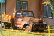 Rusty Pickup Truck Photos - Junk by Chuck Kuhn