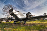 Museo Del Ejercito Del Aire Prints - Junkers JU-52 Print by Miguel Diaz