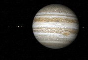 Jupiter Photos - Jupiter, Artwork by Detlev Van Ravenswaay