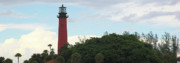 Jupiter Photos - Jupiter Lighthouse Florida by Michelle Wiarda