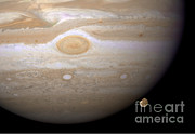 Jupiter Photos - Jupiters Moon Ganymede by Nasa