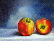 Kitchen Wall Originals - Just a Couple of Apples by Diana Cox