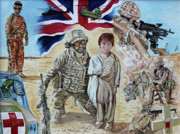 Army Paintings - Just Another Day by Graham Swan