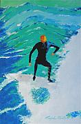 Wind Surfing Art Paintings - Just Another Ride by Ralph Mantia Sr