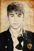Award Mixed Media Prints - Just Bieber Print by Dancin Artworks