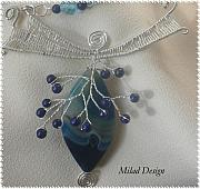 Sterling Silver Jewelry - Just Blue by Mila Drutel