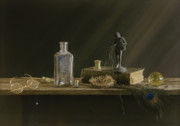 Statue Pastels - Just Common Things by Barbara Groff
