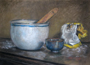 Images Pastels - Just Enough Flour by DK Richardson