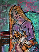 Cats Originals - Just Fine Alone  by Tammy Cantrell