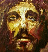 Jesus Pastels Prints - Just For Me Print by Bob Naramore