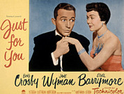 Bing Photos - Just For You, Bing Crosby, Jane Wyman by Everett