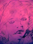 Just Lines Print by Allen n Lehman