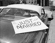 Just Married Posters - Just Married Poster by Grundy