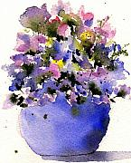 Flowerpot Posters - Just Picked Poster by Anne Duke