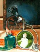 Jug Painting Originals - Just Some old Things by Diana Weems