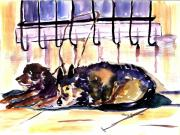 Grate Originals - Just Waiting by Nancy Brennand