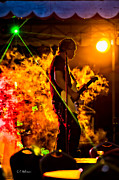 Music Photo Prints - Just Warming Up Print by Christopher Holmes