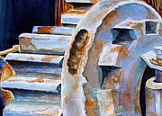 Rust Paintings - Just Wont Budge by Marsha Elliott