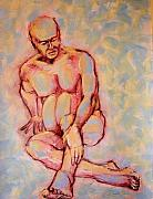 Figurative Work - just yesterday I was a young man by Charles Peck